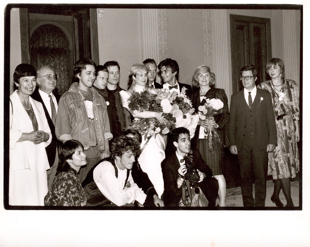 Joanna & Yuri wedding cermony ew Kuryokihn, BG, Gurianov, Marianna Tsoi, Judy Fields, parents