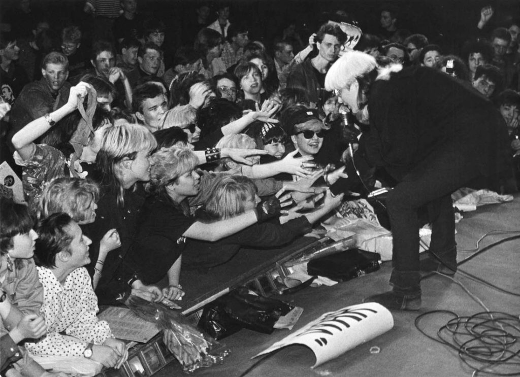 Stingray concert at Rossia Hall, 1991