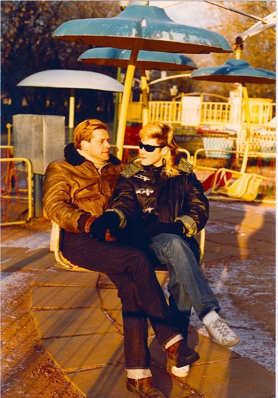 Boris & Stingray Gorky Park, Moscow 1984