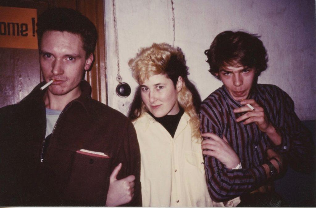 Gustav, Joanna & Afrika mid 80's