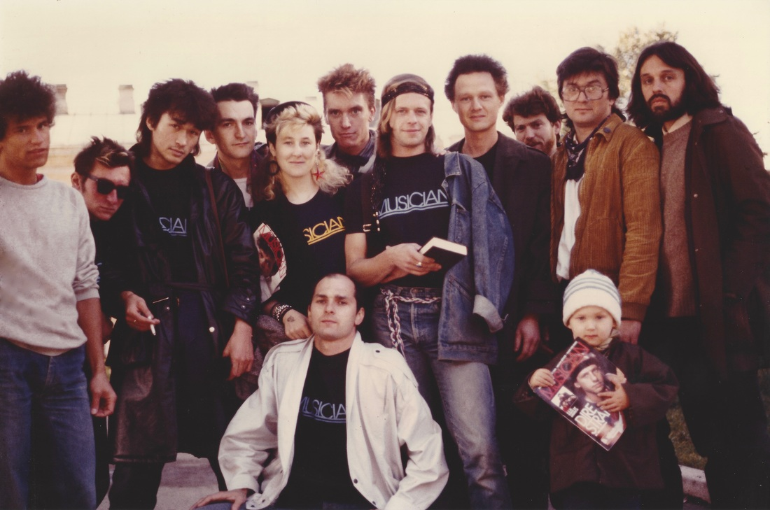 Boris & Aquarium, Tsoi, Gustav, Stingray, Sologub Brothers & little Titov