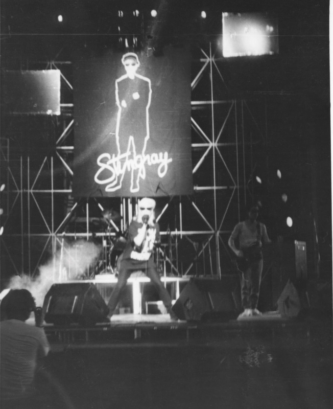 Stingray concert, Rossia Hall Moscow, mid 90's