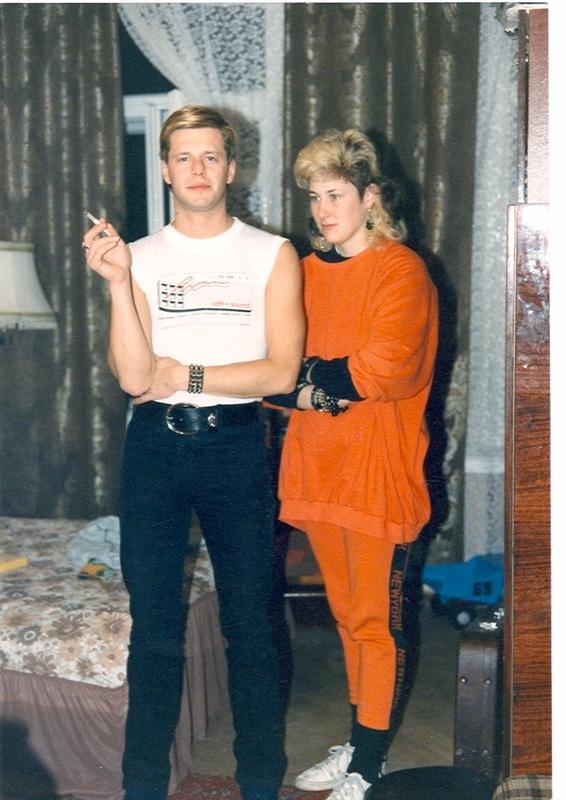 Boris and Joanna 80's