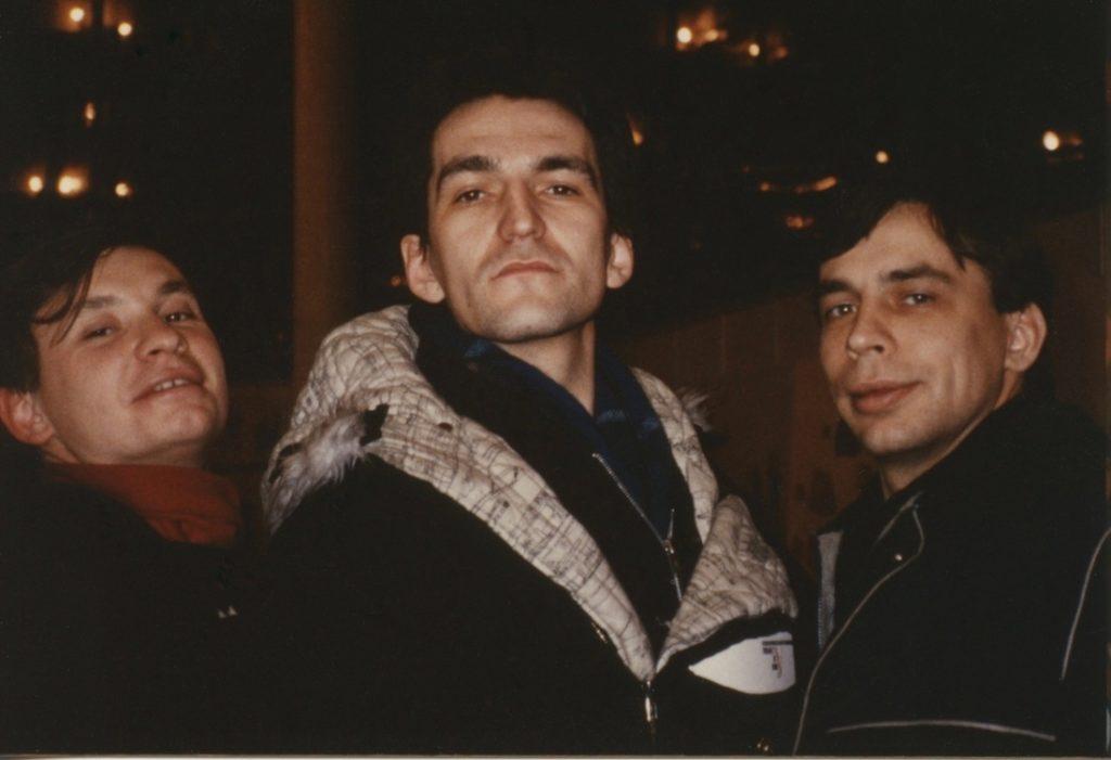 Andrei Kholbuistin, Timur Novikov & Andrei Medveydev
