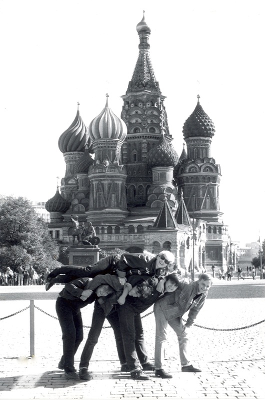 Stingray with Moscow band