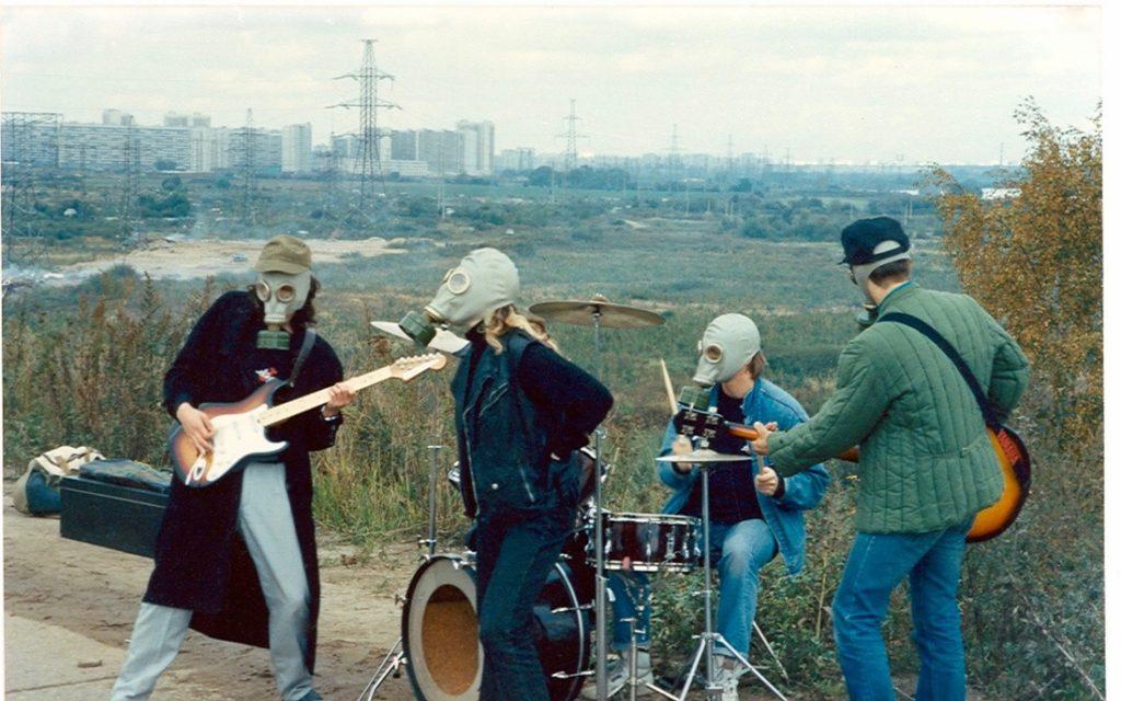 War music video shoot 90's