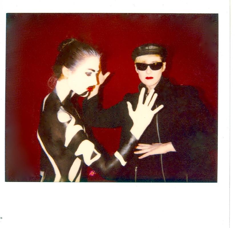 Dancing in The Sky video shoot 90's