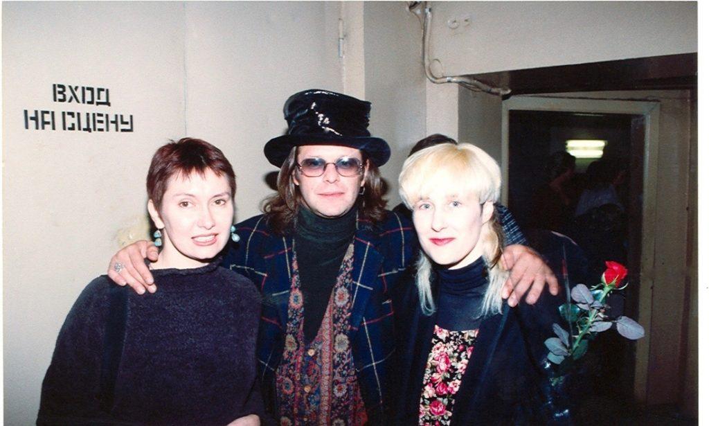 Stingray with Boris and his wife, Irina