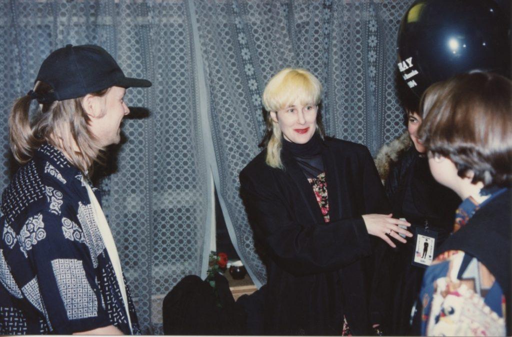 Stingray backstage with Sasha