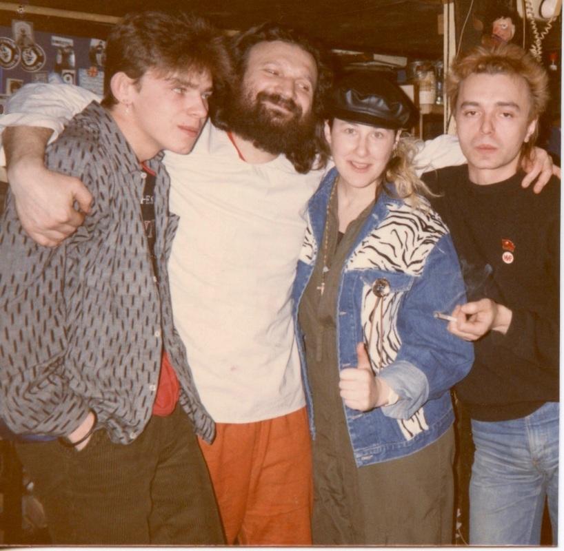 Afrika, Kolya Vasin, Stingray & Kostya Kinchev mid-80's