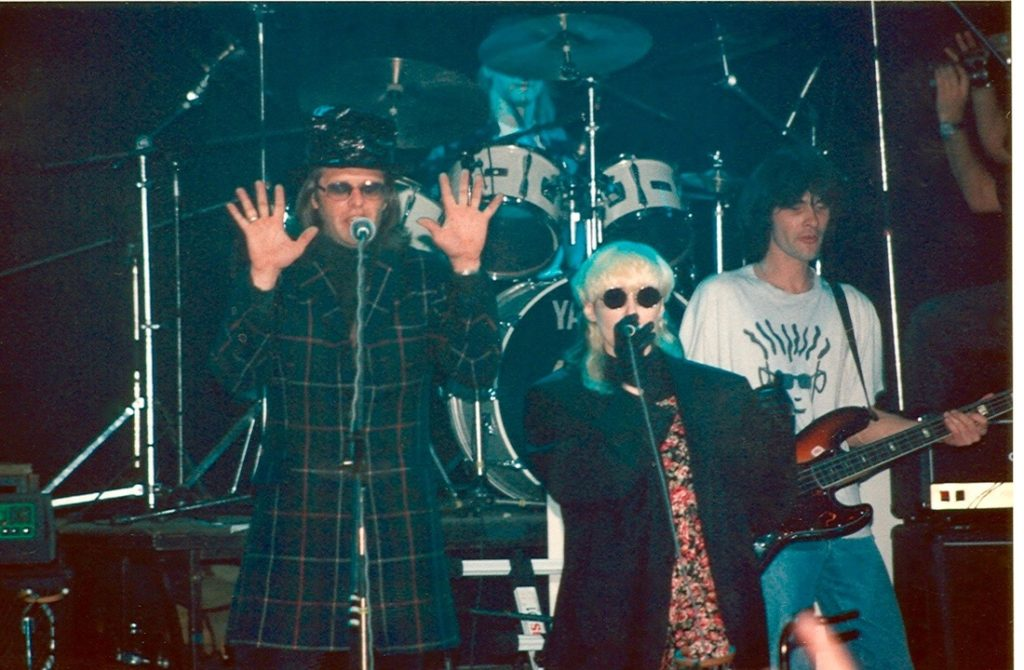 Boris & Stingray singing Come Together, Moscow early 90's