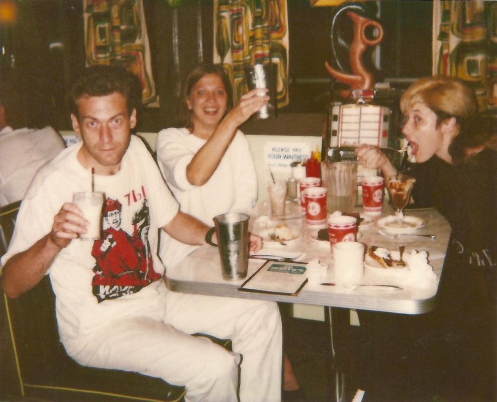 Stingray with Artiom & Svetlana Troitsky at Ed Debevic's Los Angeles