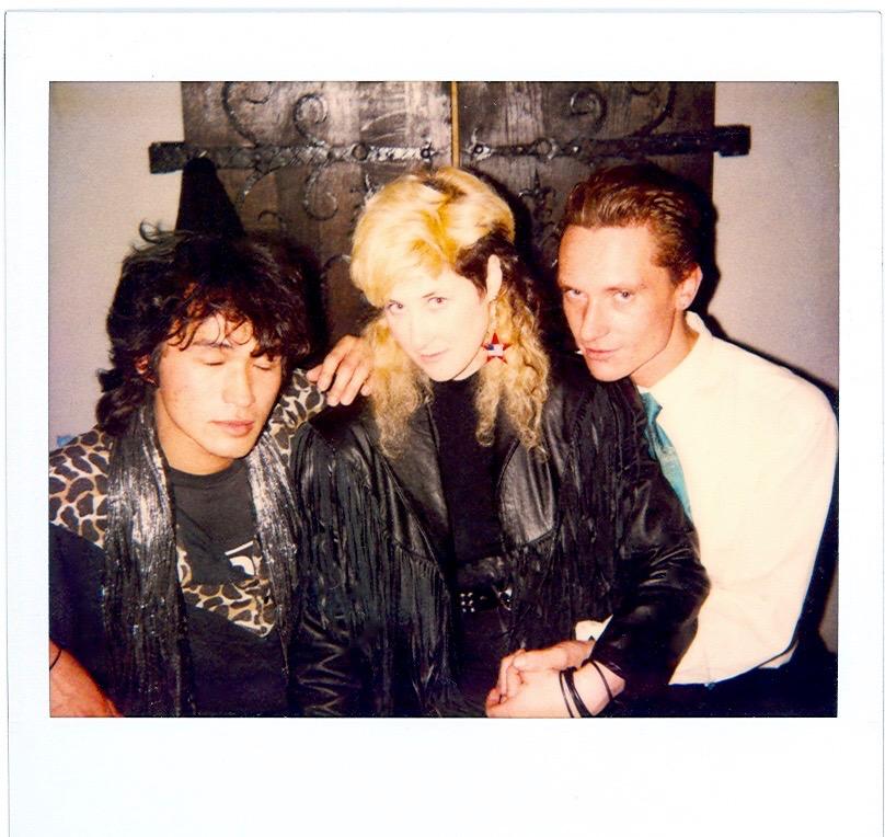 Tsoi, Stingray & Gurianov, wedding party 1987