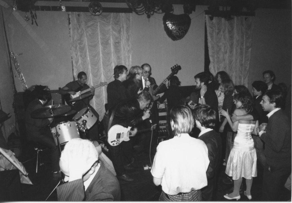 Wedding party 1987