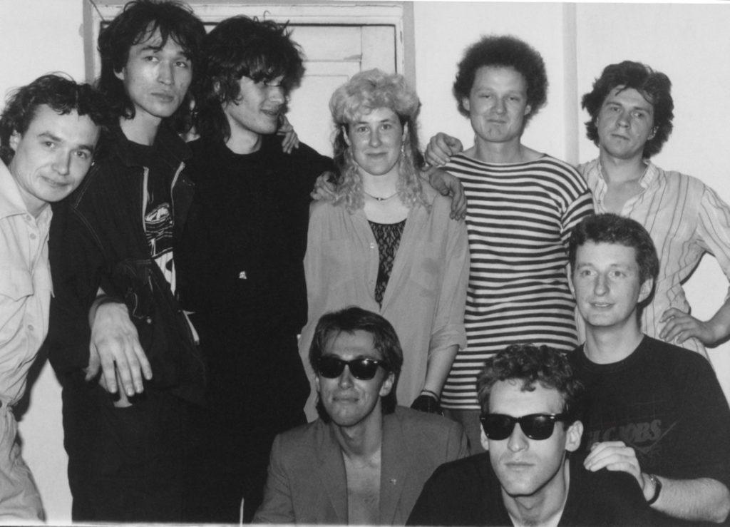 Kino, Stingray, Kuryokhin, Troitsky & billy Bragg, Leningrad